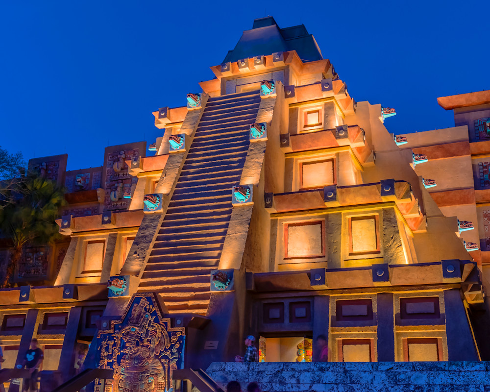 Mexico Pavilion - Epcot Center Photos | William Drew Photography