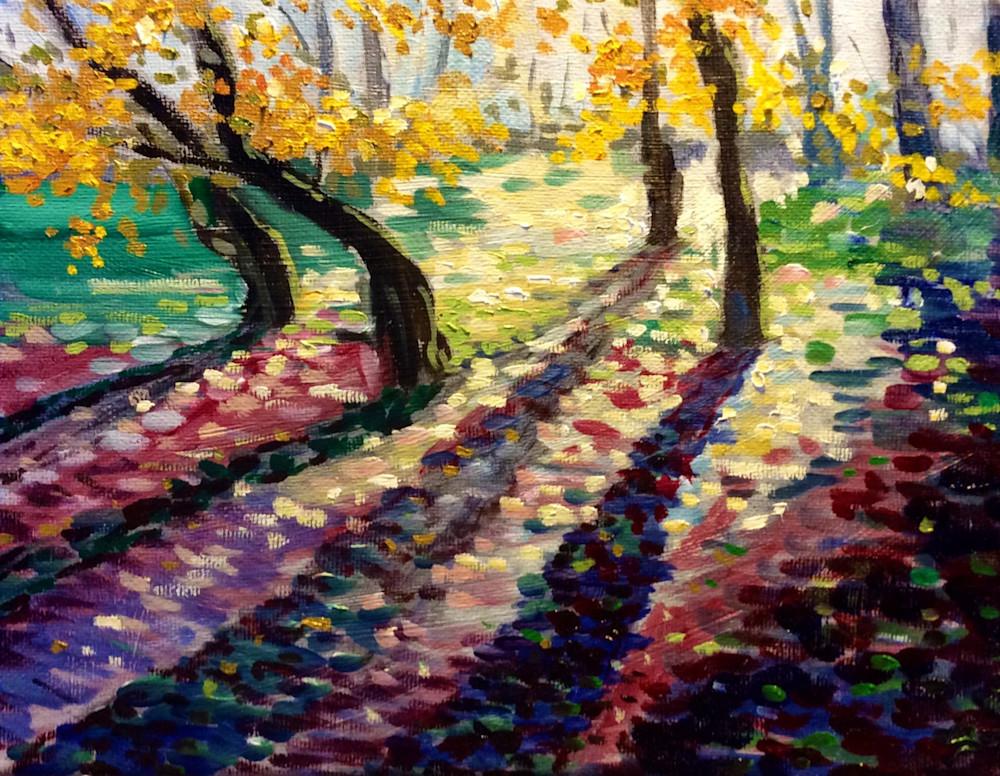 Twilight and Shadows Fine Art Print