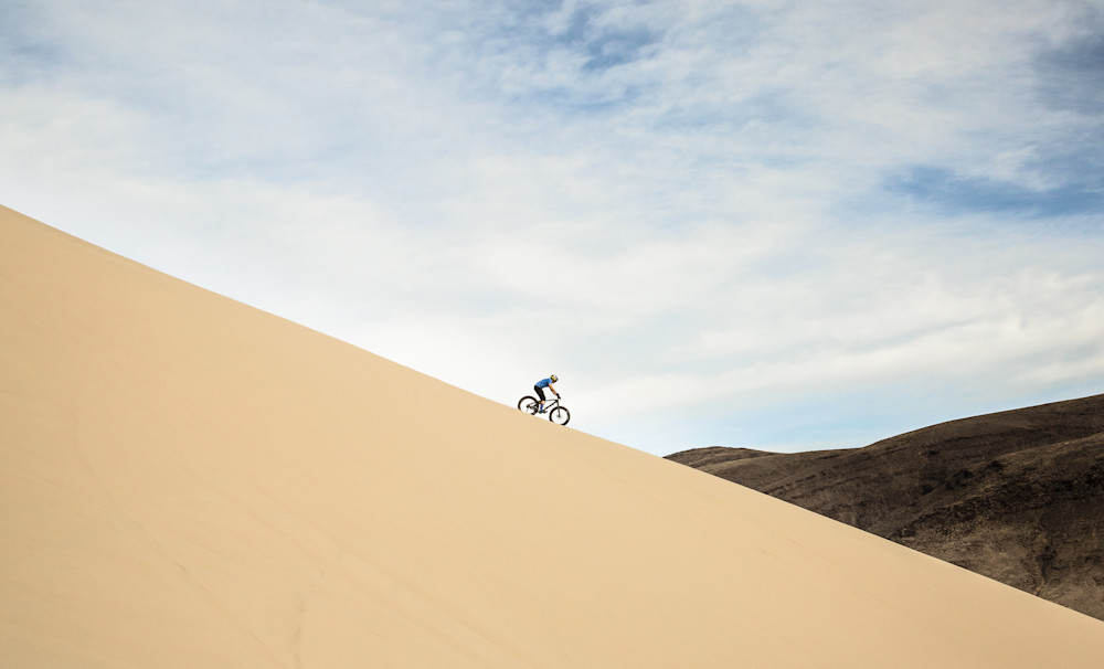 Sand Mountain Descent Photography Art | David N . Braun Photography