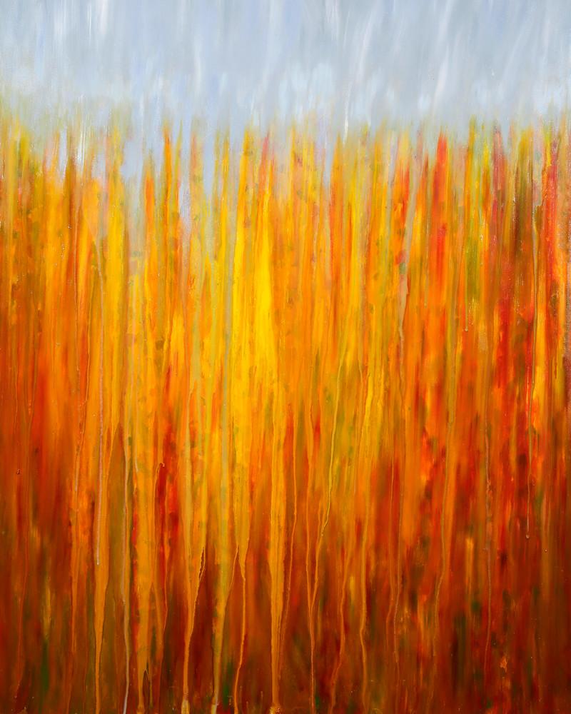 Rainy Moment 01 - Autumnal Rain by Rachel Brask