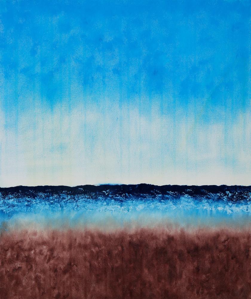 Beach Before The Rain Art | Rachel Brask Studio, LLC