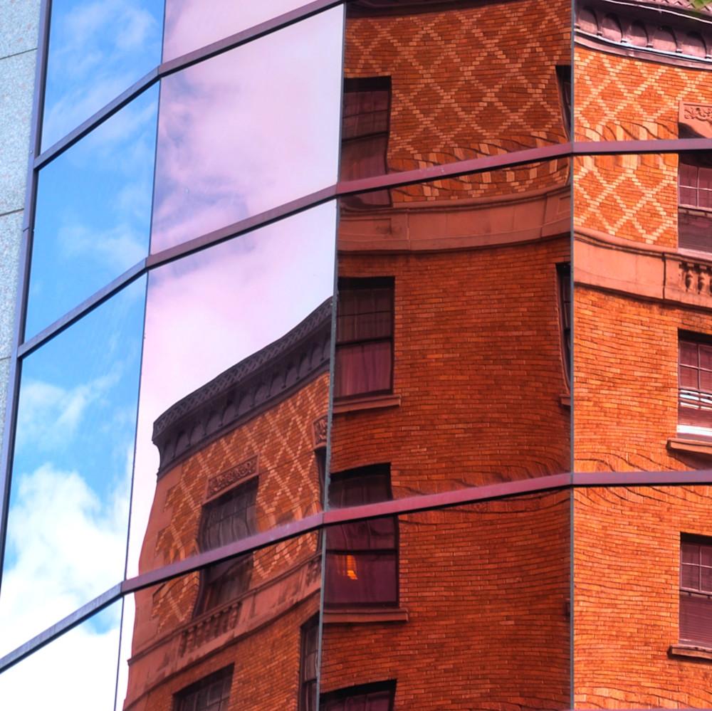 Brick And Glass Sq