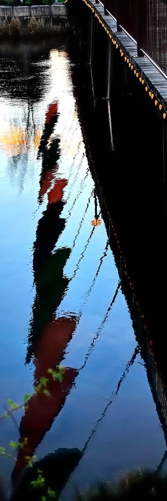Foot Bridge Reflections