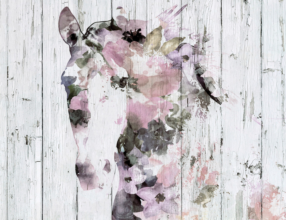 Pink Gypsy Horse