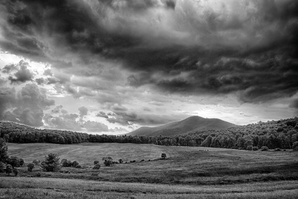 Mount Ascutney Storm Gathering