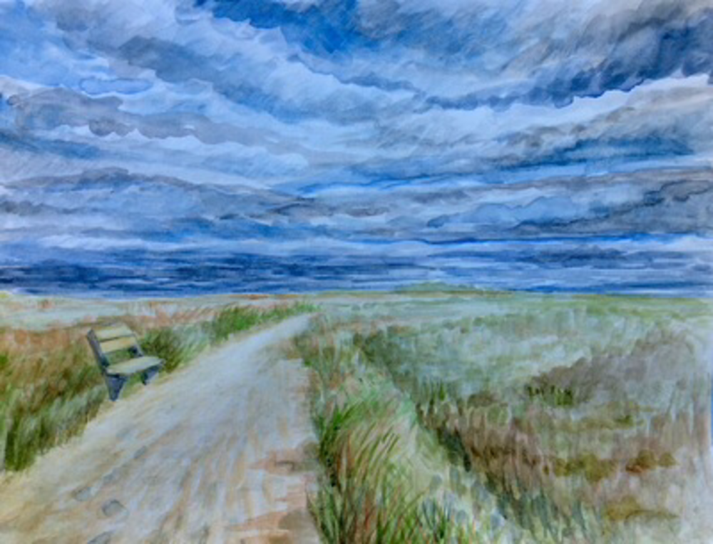 Stormy Clouds over the Cape Fine Art Print