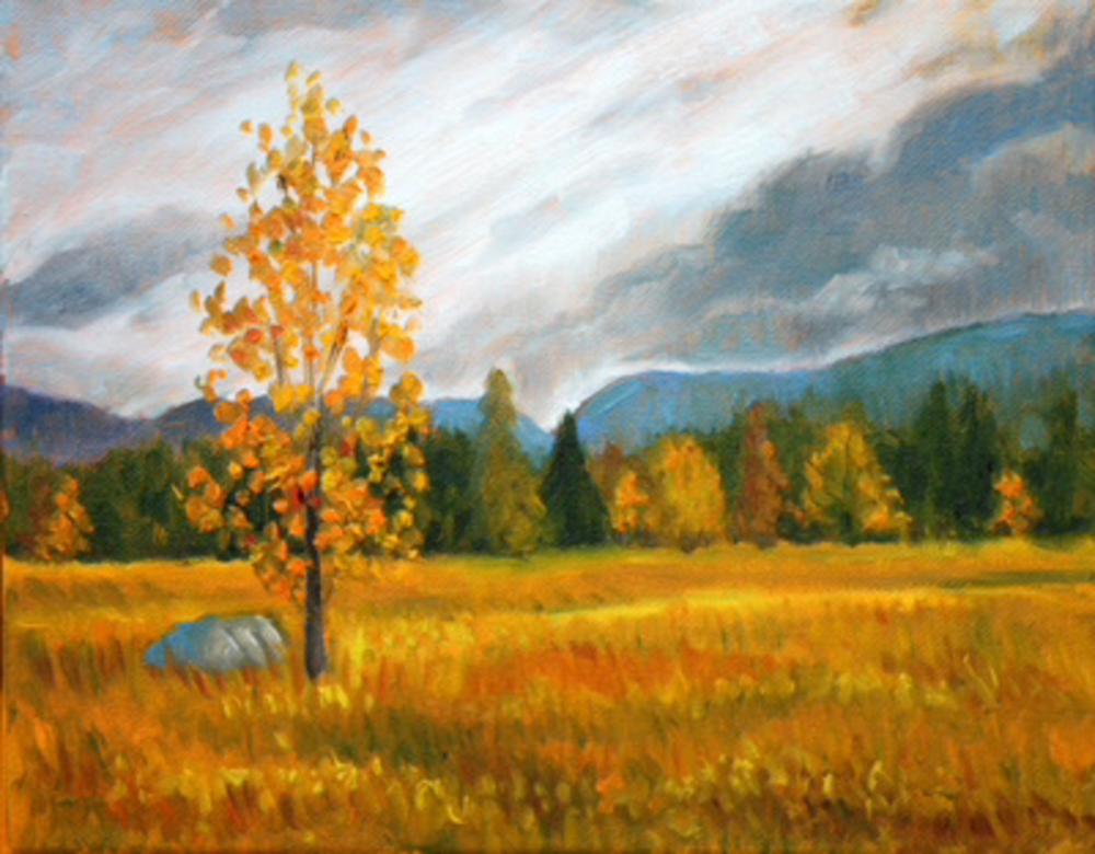 October on the range fine art print