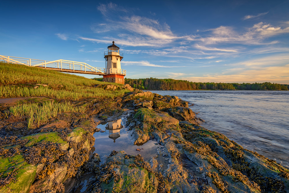 Doubling Point Lighthouse by Rick Berk