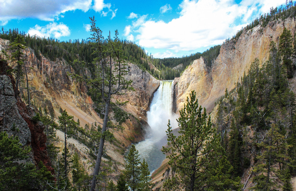 Yellowstone Fall - Grand Canyon of Yellowstone