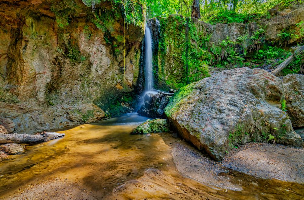 Clark Creek Natural Area Waterfall No. 2 photography
