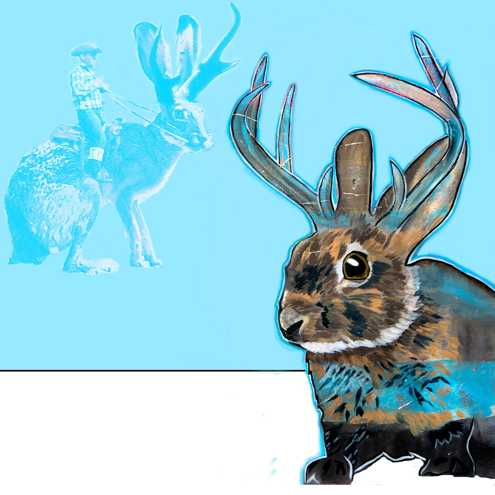 Jackalope   Contemporary Art | William K. Stidham - heART Art