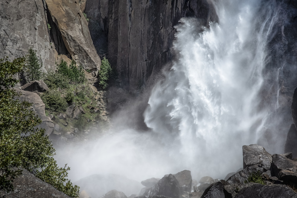 Lower Yosemite Falls Power