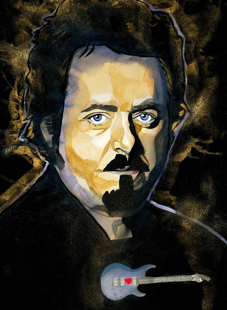 Steve Lukather Art | William K. Stidham - heART Art