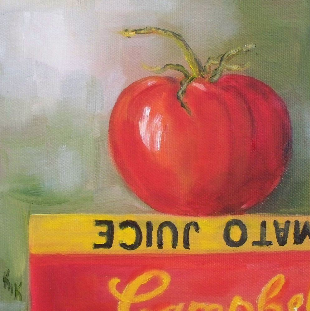 If Tomatoes Could Read by Food Artist Kristine Kainer
