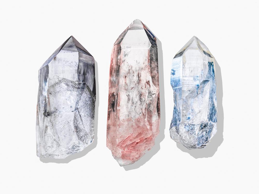 Timothy Hogan Crystals 3 up print