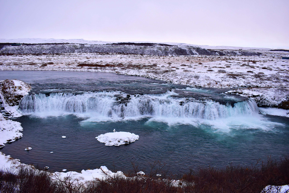 Faxi Waterfall, Iceland