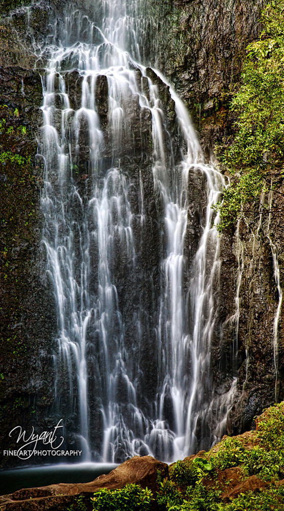 Maui Waterfall 2: Shop Fine Art Photography | Jim Wyant, Master Craftsman (317)663-4798