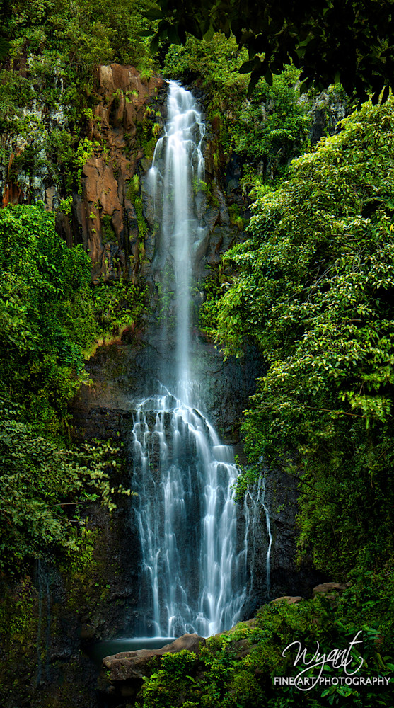 Maui Waterfall 1: Shop Fine Art Photography | Jim Wyant, Master Craftsman (317)663-4798