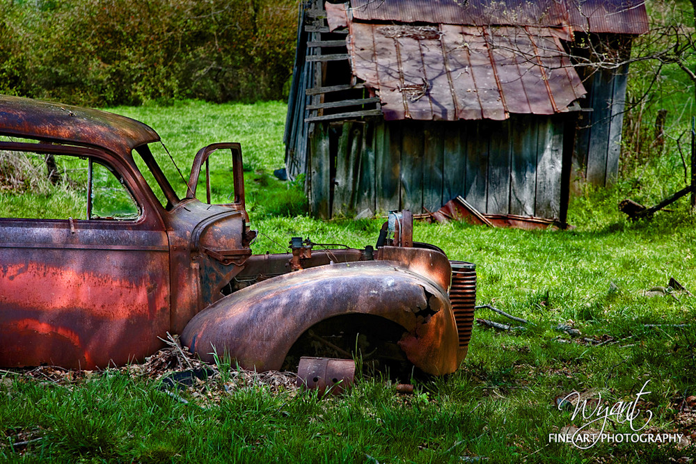 Old  Car in Virginia: Shop Fine Art Photography | Jim Wyant, Master Craftsman (317)663-4798