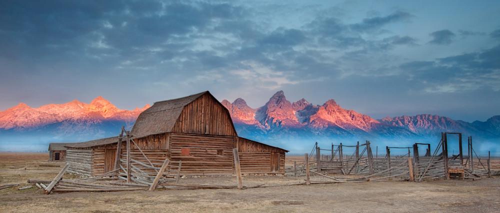 Mormon Row Sunrise Photography Art | JL Grief Fine Art Photography
