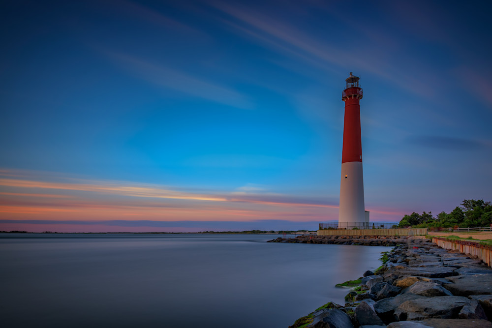 Dusk at Barnegat Inlet by Rick Berk