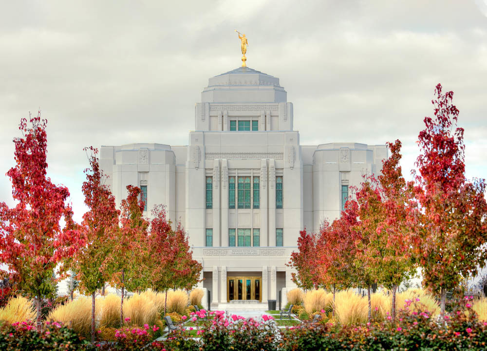Meridian Temple - Fall Colors