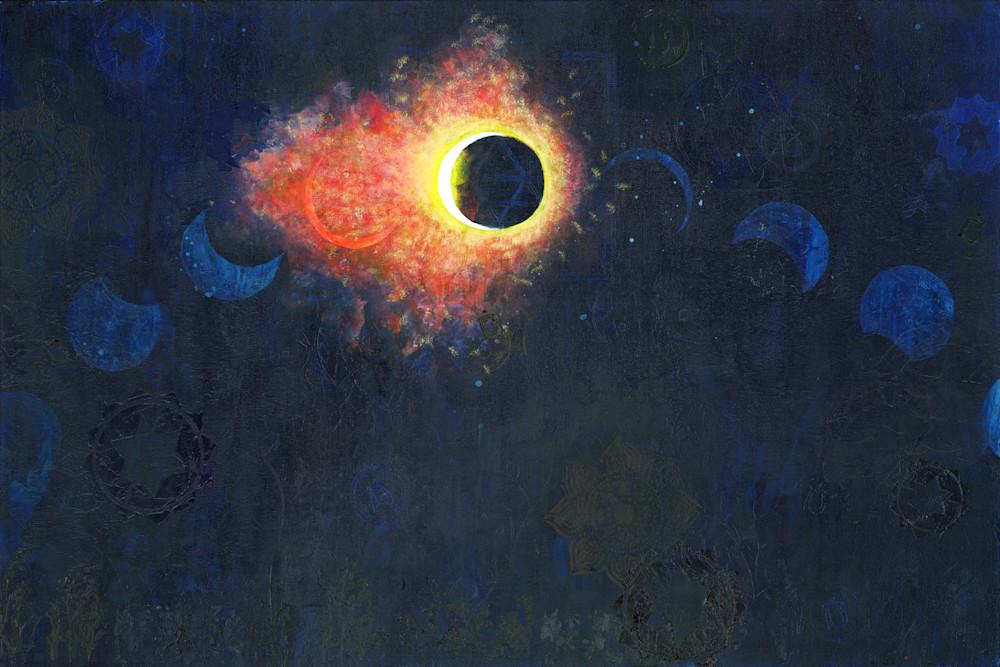 Solar Eclipse 2017 Art | Kathryn Neale Studio