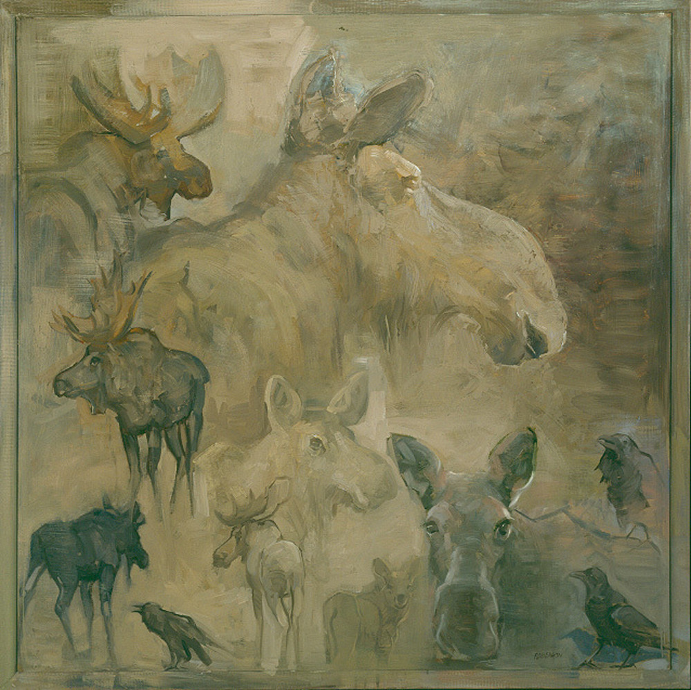 Cow Moose And Company