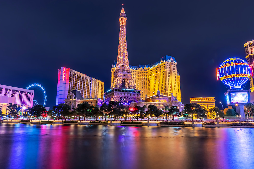 Paris Hotel Las Vegas - Pictures of Las Vegas Nevada | William Drew
