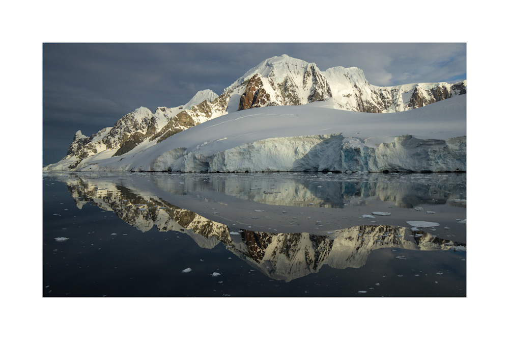 Photograph of Glacial Reflection, Lemaire Channel.