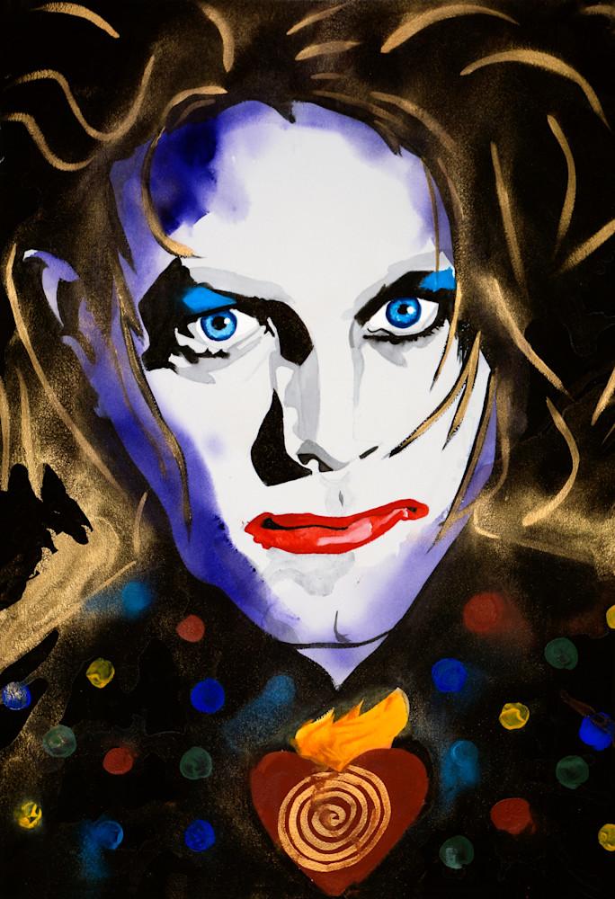 Robert Smith   The Cure Art   William K. Stidham - heART Art