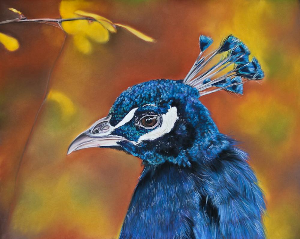 India Blue Art | Lauren Herr Fine Art
