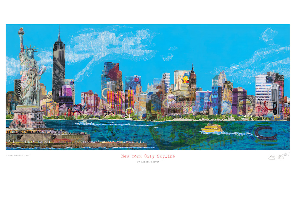 New York Skyline   Consolidated Art | Made by Kristi