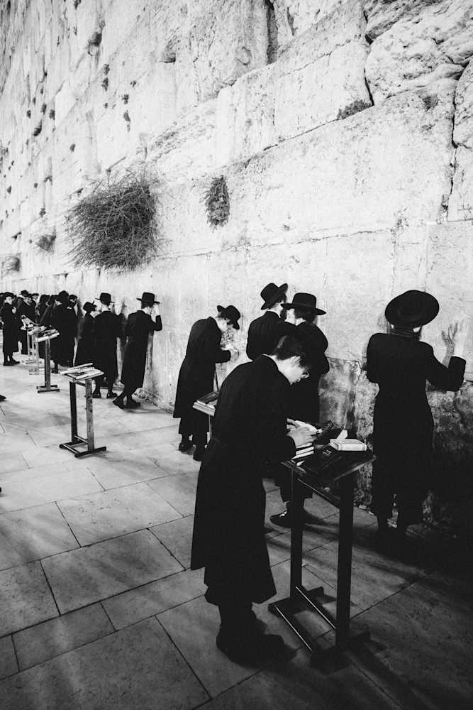 Western Wall Contrasts | Kirby Trapolino Fine Art Photography