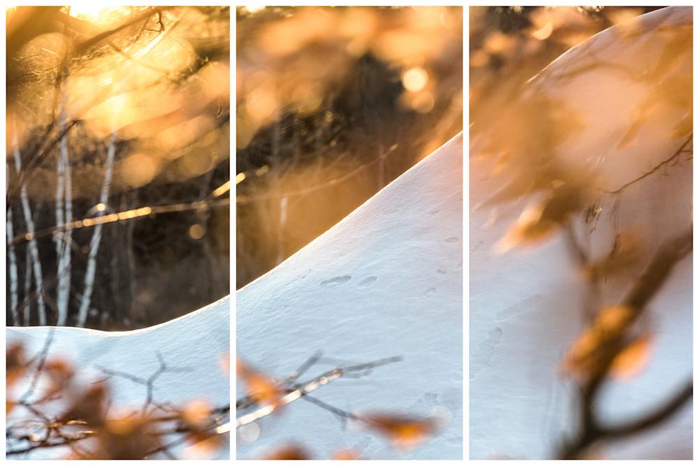 Winter Curves Photography Art | Nathan Larson Photography, LLC