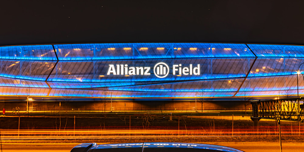 Allianz Field Reflection - Stadium Photographs | William Drew Photography