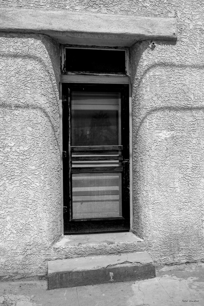 DP607 Screen Door B&W
