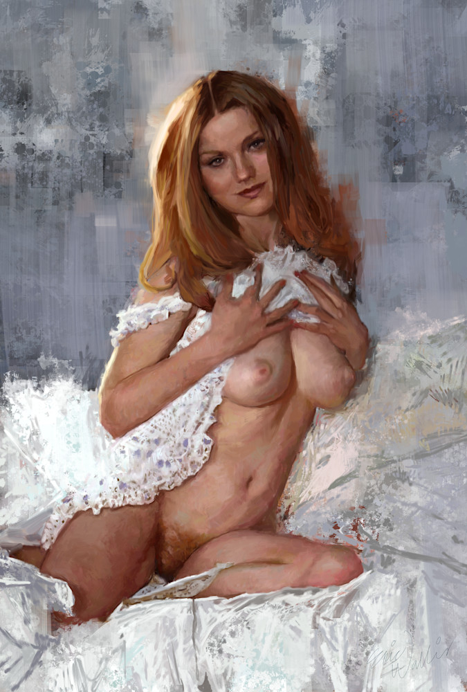 "Digital Painting titled ""Top Pulled Up"" -Eric Wallis"