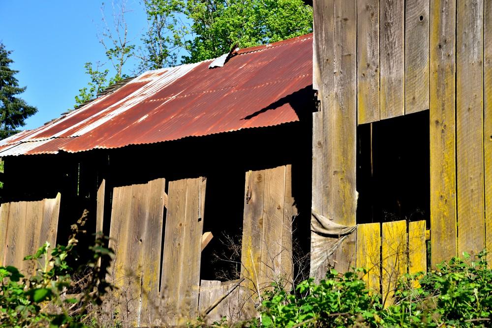 Amity Road Barn Three Windows