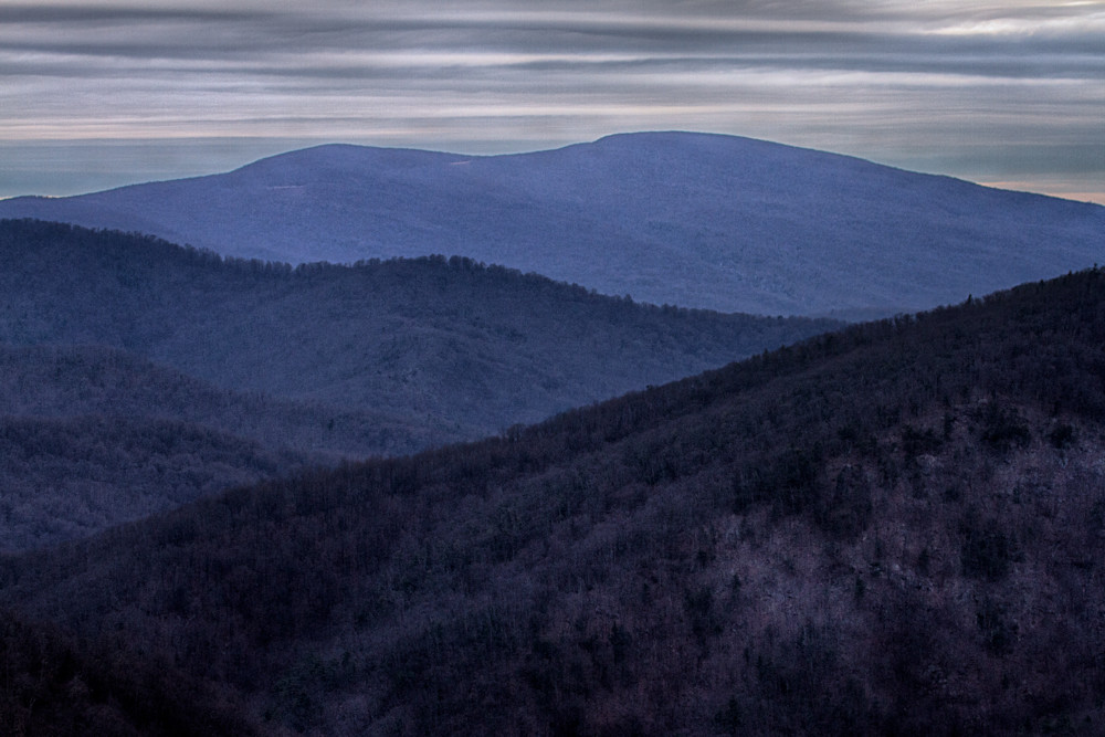 A Fine Art Photograph of a Placid Day in Shenandoah by Michael Pucciarelli