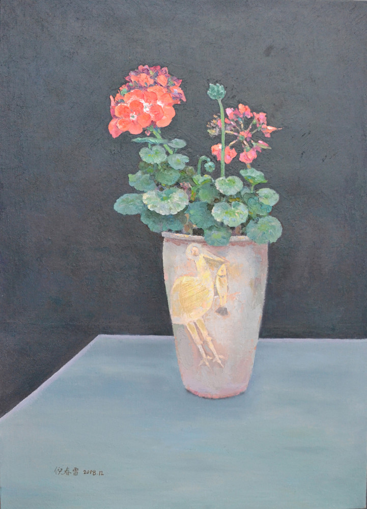 Begonia on the Table