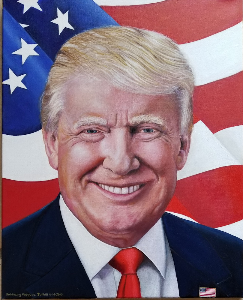 Donald Trump  Art | Vasquez Art