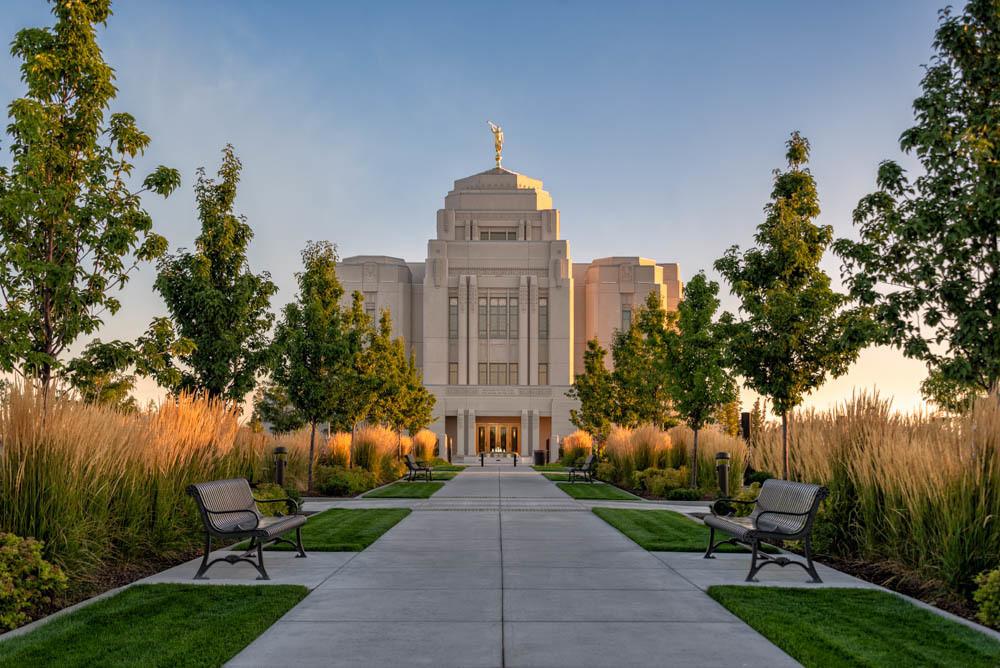 Meridian Temple - Morning Light