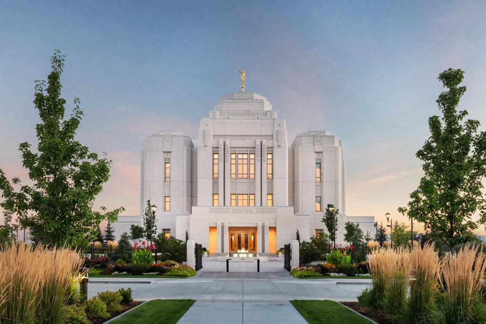 Meridian Temple - Sunrise
