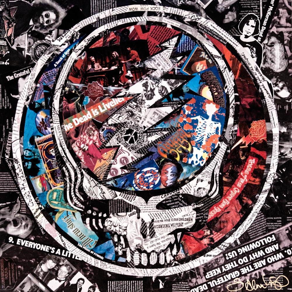 Smash Your Face  Grateful Dead Art | The Reclaimist