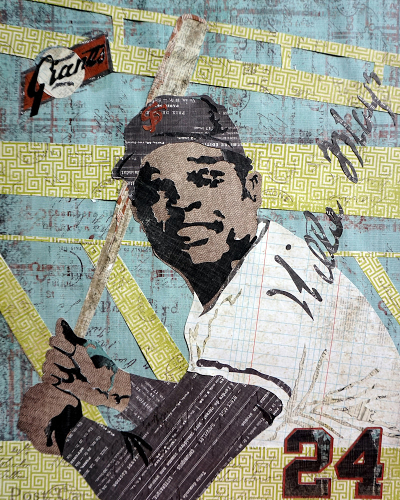 Willie Mays Art | The Reclaimist