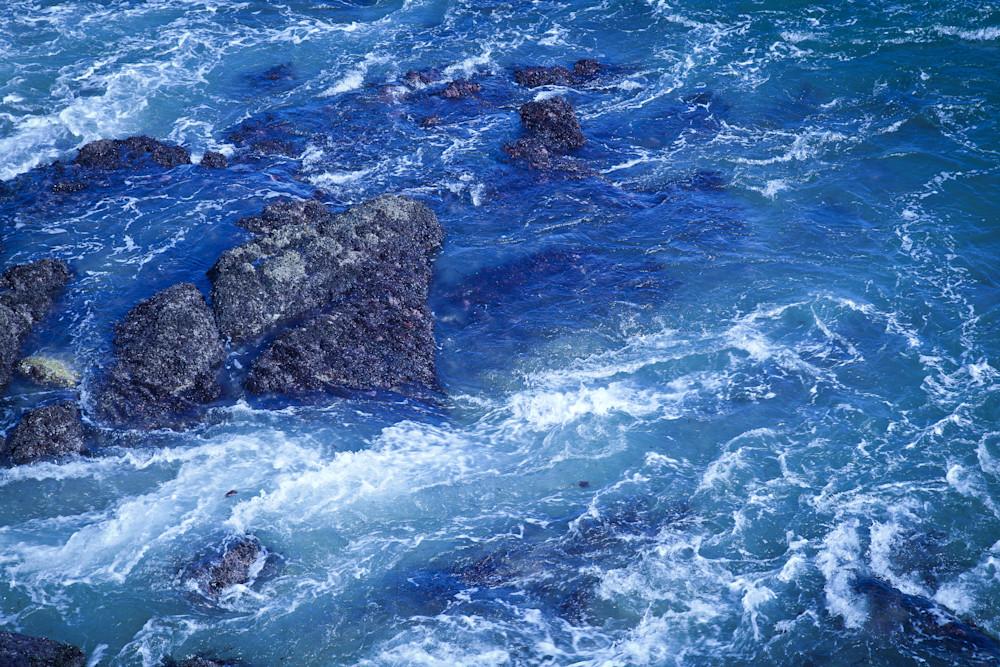 Ocean Turbulence is a photograph of the sea.
