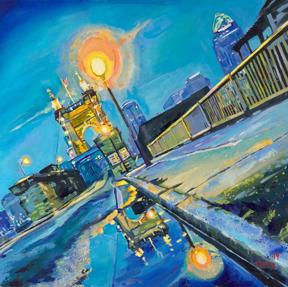 Tony Lipps Art Roebling on tilt