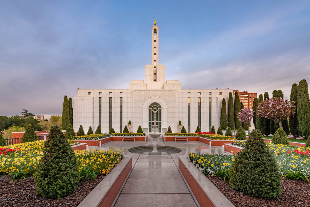 Madrid Spain Temple - Covenant Path