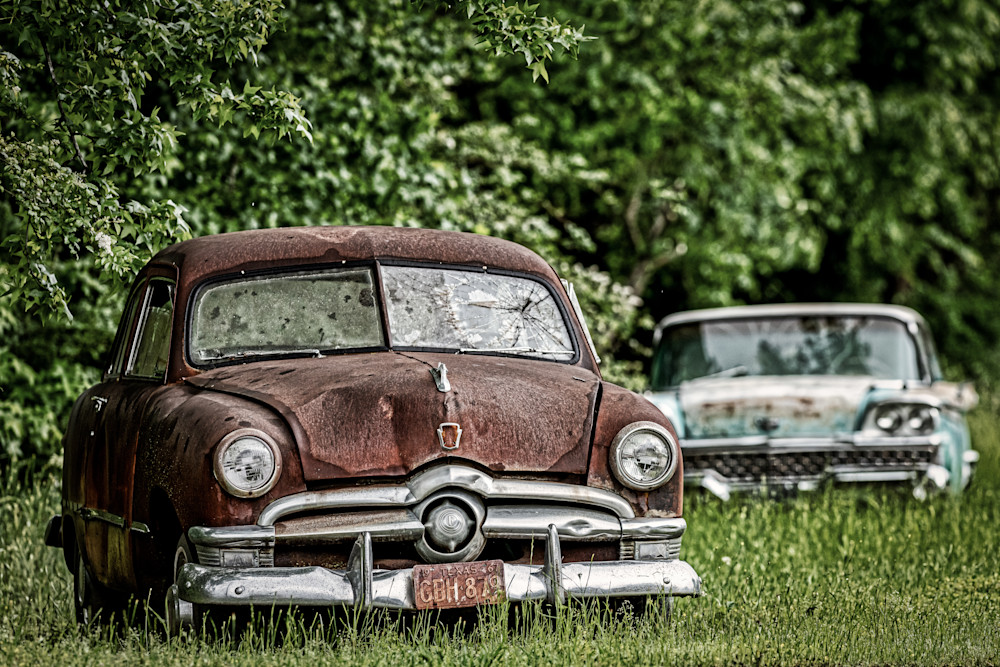 1950s Ford cars prints for sale
